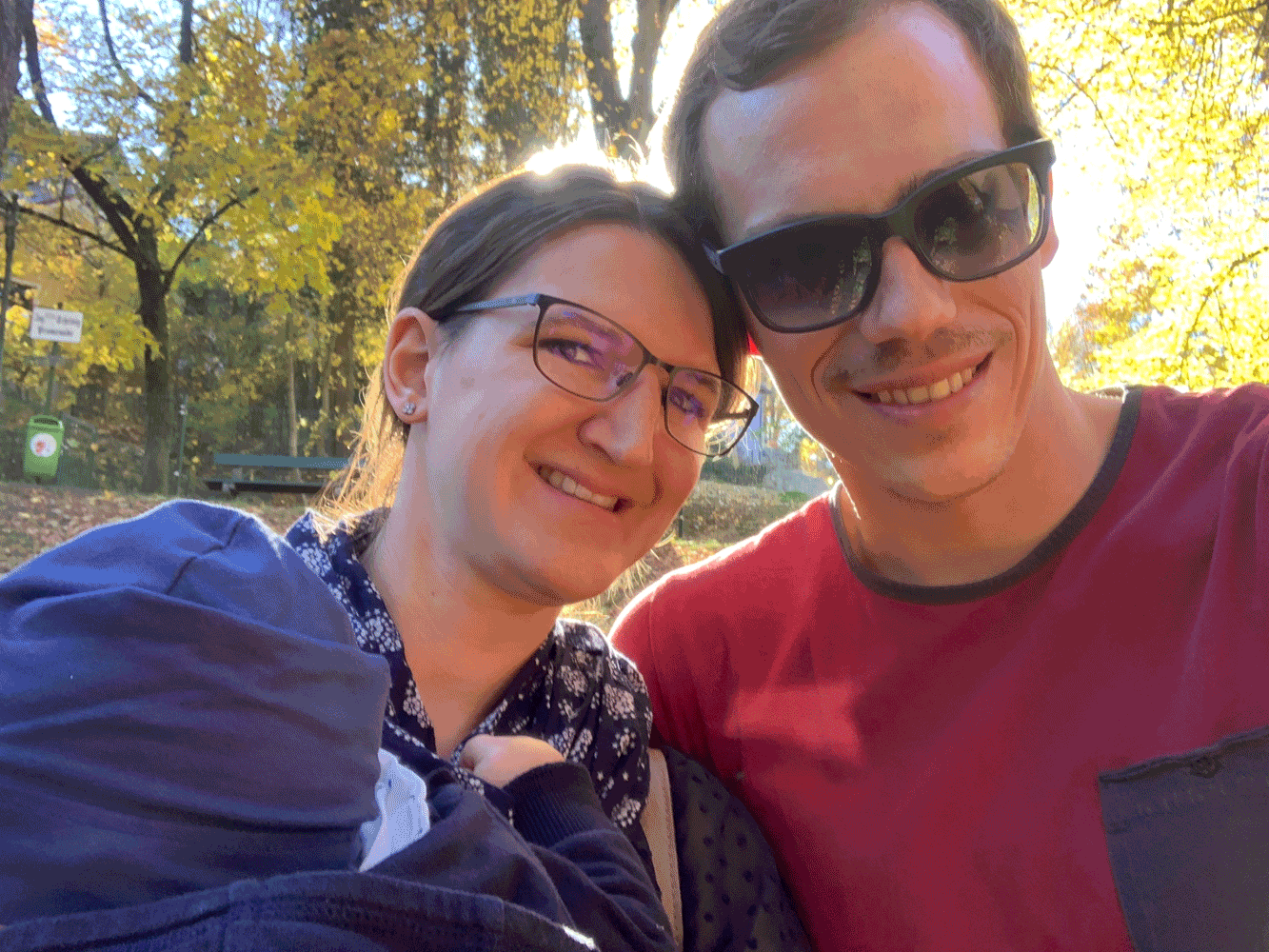 Dr. Clemens Kaindlstorfer mit seiner Frau Stefanie und seinem Sohn